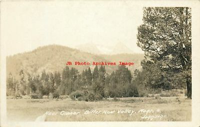 4 Postcards, Conner, Montana, RPPC, Bitter Root Valley Scenes, Johnsons Photo