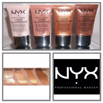 NYX Born To Glow Face illuminator / HighLighter / Bronzer EACH SOLD SEPARATELY