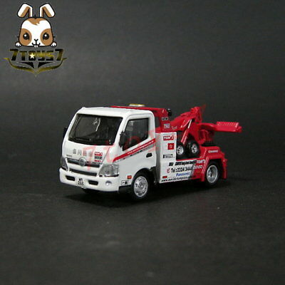 Tiny Die-cast Hino 300 World Champion Tow Truck Special Edition_limit Box_TE014Z