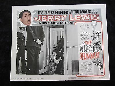 The Delicate Delinquent lobby card # 3 - Jerry Lewis - R62 lobby card