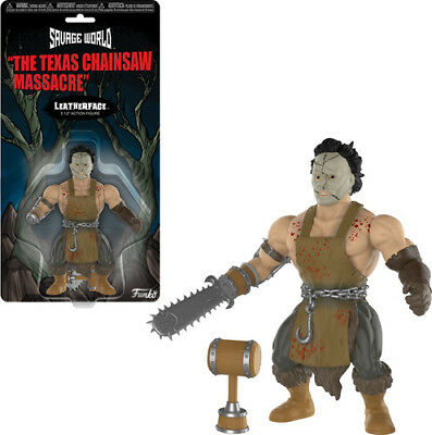 Texes Chainsaw Massacre - Leatherface - Funko Savage World (2018, Toy NEUF)