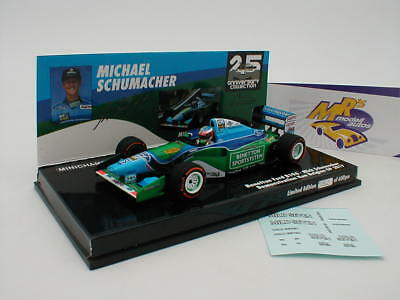 "Minichamps 517941705 - Benetton B194 "" Mick Schumacher "" Demo Run Belgien 1:43"