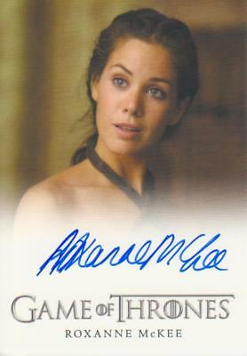 Game of Thrones Full Bleed Style Autograph Card - Roxanne McKee as Doreah