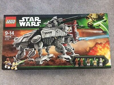 RARE LEGO Star Wars UCS AT-TE 75019 - NEW & UNOPENDED! BNIB Attack of the Clones