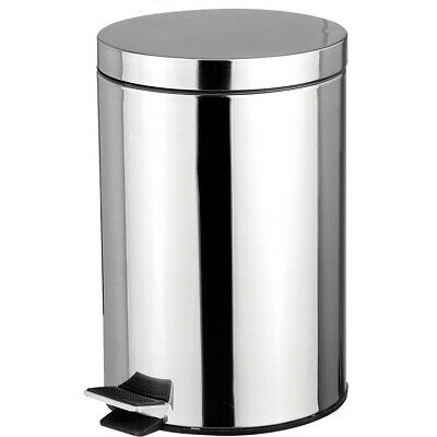 Sweet Home Collection Stainless Steel 1.32 Gallon Step On Trash Can SWET1472