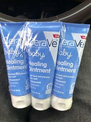 CeraVe Baby Healing Ointment - Treating and Preventing Diaper Rash ~3 PACK~ 2019