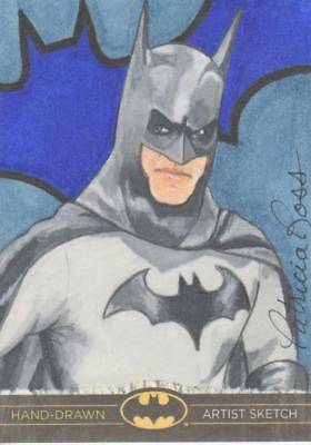 DC Comics Batman: The Legend Color Sketch Card by Ross - Batman