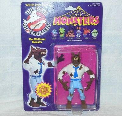 """Ghostbusters 6"""" The WOLFMAN MONSTER Toy Kenner 1980s Original Package Wolf Ghost"""