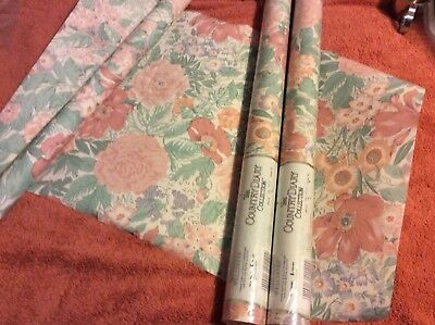 🌺2 Rolls Of Vintage Pretty Floral The Country Diary Collection Wallpaper 🌺