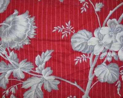 AUTUMN CLEAROUT, MID 19th CENTURY FRENCH TOILE DE JOUY FRAGMENT, REF 1.