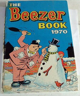 Vintage 1973 Beezer Book: Comic Annual: Unclipped:
