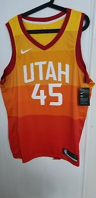 Authentic Utah Jazz Nike City Edition Swingman Jersey Size XL - Donovan  Mitchell d74b6ebb6