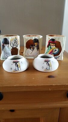 DeGrazia candle pots and Luminarias