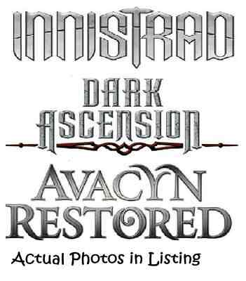 MTG Magic the Gathering Innistrad, Dark Ascension, Avacyn Restored Mix. C/U/R's