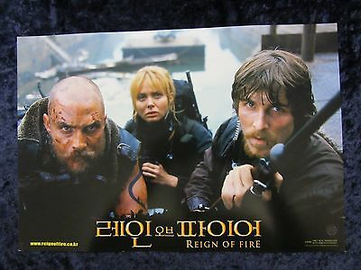 Reign Of Fire lobby card # 2 - Matthew McConaughey, Christian Bale