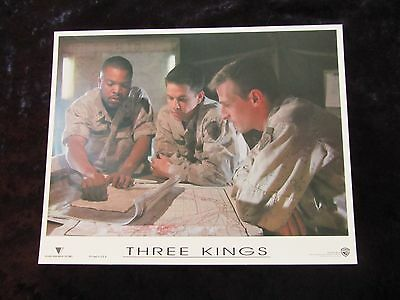 Three Kings lobby card # 5 - Mark Wahlberg, Ice Cube