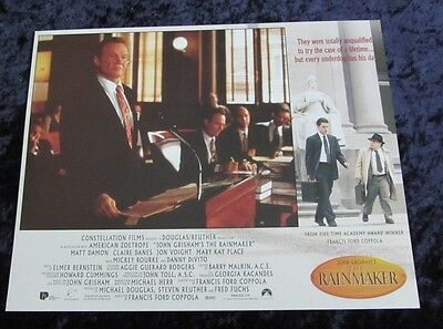 The Raimaker lobby card # 1 - Jon Voight - 11 x 14 inches