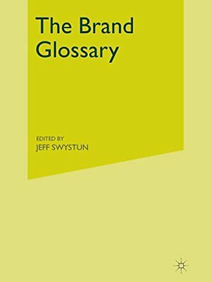 The Brand Glossary by Interbrand Hardback Book The Cheap Fast Free Post