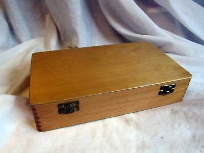 A Vintage Handy Wooden Box