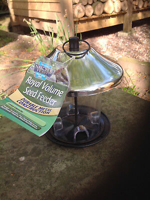 Nature's Feast Royal Volume Seed Feeder Durable