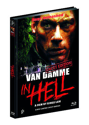 IN HELL - Rage Unleashed *van Damme (Blu-ray+DVD) Mediabook Cover B *LE*OVP* 024