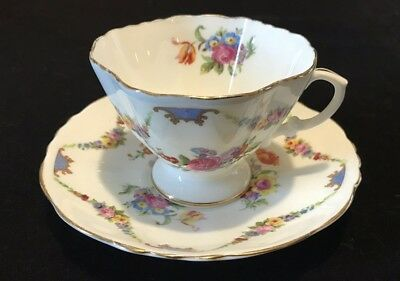 Hammersley And Co Bone China Teacup And Saucer