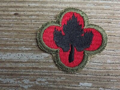 WW2 43rd Division Patch, OD Border