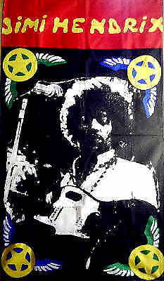 """Jimi Hendrix Flag 36""""x60"""". Wall-hanging/Banner /Tapestry/Poster"""