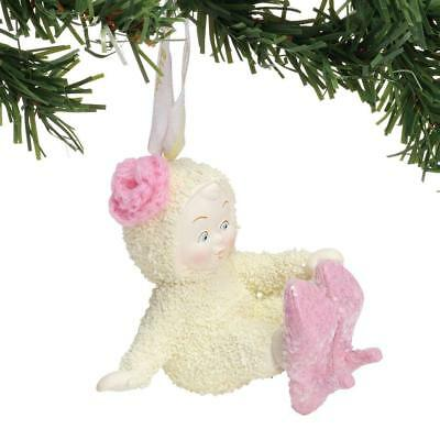 Snowbabies Classic Baby With New Shoes Porcelain Christmas Ornament 6000860 New