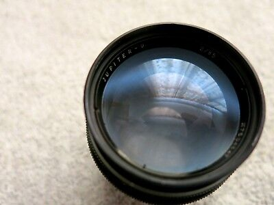JUPITER-9 2/85mm RUSSIAN LENS M39 SCREW FIT FOR LEICA / ZEISS / NEEDS A CLEAN