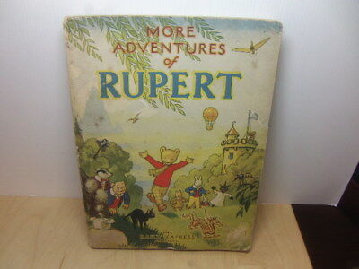 More Adventures of Rupert bear – Daily Express Annual 1947 soft cover