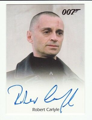 Robert Carlyle As Renard 007 The World Is Not Enough James Bond Auto Autograph
