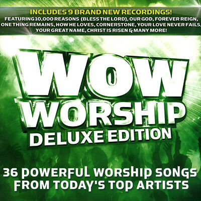 Wow Worship LIME [Deluxe Edition] 36 Powerful Worship Songs [2CD] 2014  ** NEW *