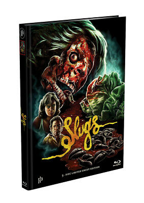 SLUGS - 3-Disc Mediabook Cover D (Blu-ray+2xDVD) Limited Edition *Uncut* OVP*033