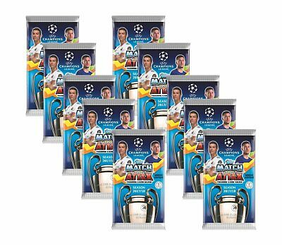 Topps Champions League Match Attax 2017/18 - 10 Booster - Nordic Edition