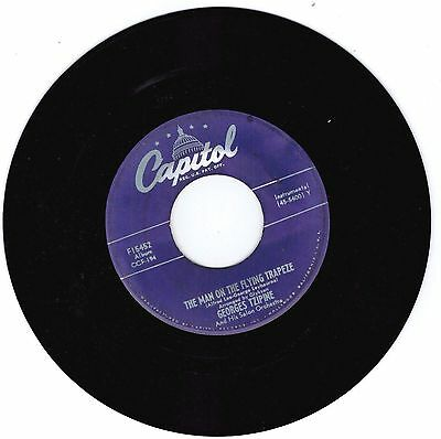 GEORGES TZIPINE 45 RPM The Man on the Flying Trapeze
