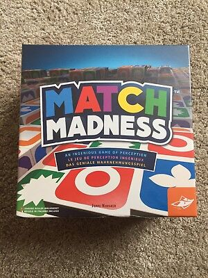 FoxMind MATCH MADNESS Family Game Age 7+ Players 1-4 Board BRAND NEW SEALED