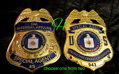 gy/ Collector badge + choose CIA Internal Affairs or Protective Operations Div.