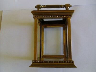A Large Carriage Clock Case, As Found.