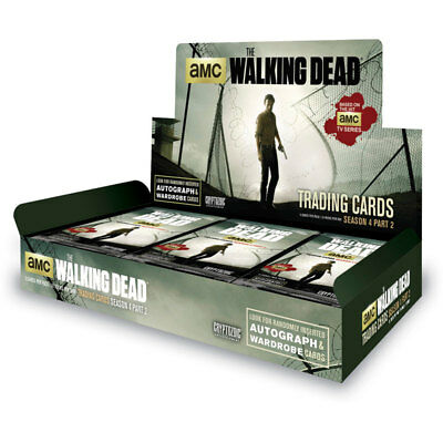 The Walking Dead Season 4 Part 2, Factory Sealed Hobby box