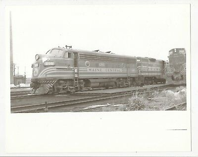 #11 Photograph Locomotive #686 Maine Central Railroad At Rigby Yard Maine