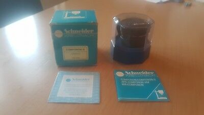 BRAND NEW Schneider 80mm F/4 F4 KREUZNACH COMPONON-S Enlarger Lens WITH KEEPER