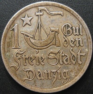 1 Gulden 1923 / 5,00 gr / 24 mm