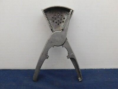 Vtg Progressus Citrus Press Juicer Bar Tool Lemon Lime W. Germany Cast Aluminum