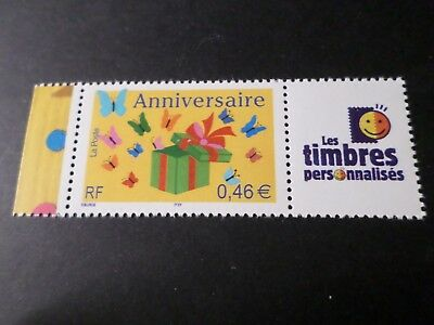 FRANCE 2002 timbre Personnalisé 3480A / TPP ANNIVERSAIRE, neuf** MNH BIRTHDAY