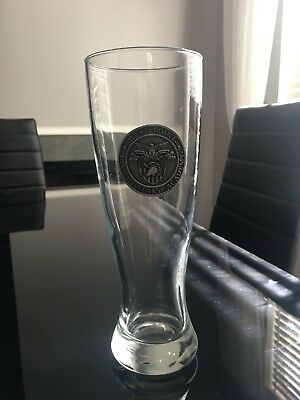 Vintage West Point Tall Beer Glass Good Condition