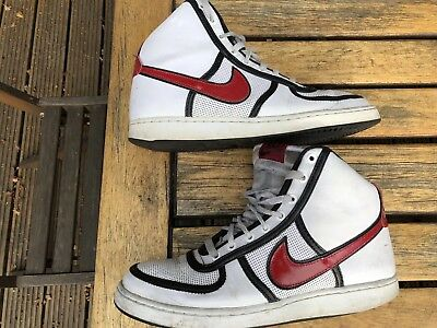 Vintage Nike High Trainers Sneakers Size 9 Basketball Retro Rare & Collectable