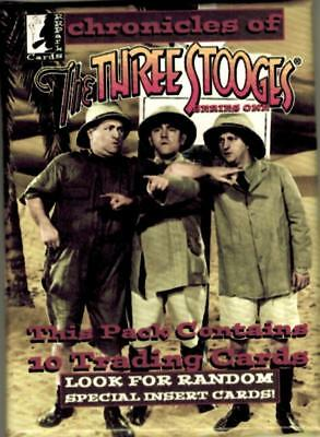 2014 Chronicles of The Three Stooges Series 1 Trading Card Pack