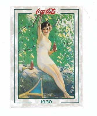 Coca Cola Collection Series 2 (1994) 1930 # 116 Lady in Bathing Suit Fact Trivia