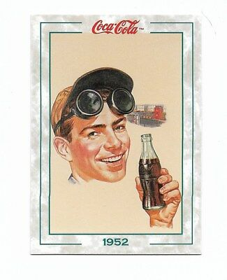 Coca Cola Collection Series 2 (1994) 1952 # 133 Man with Goggles Break From Work